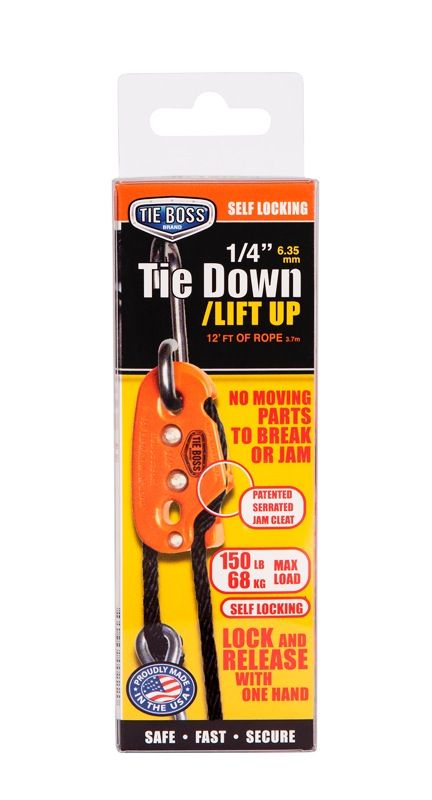 Tie Boss 1/4 Tie Down 68kg Max Load
