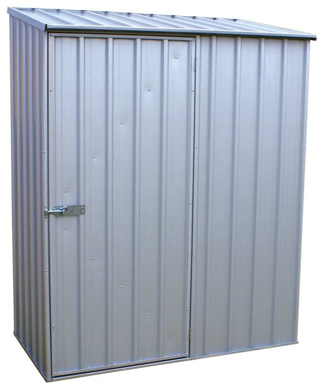 Absco 1.52m x 0.78m x 1.95m Eco-Nomy Single Door Shed