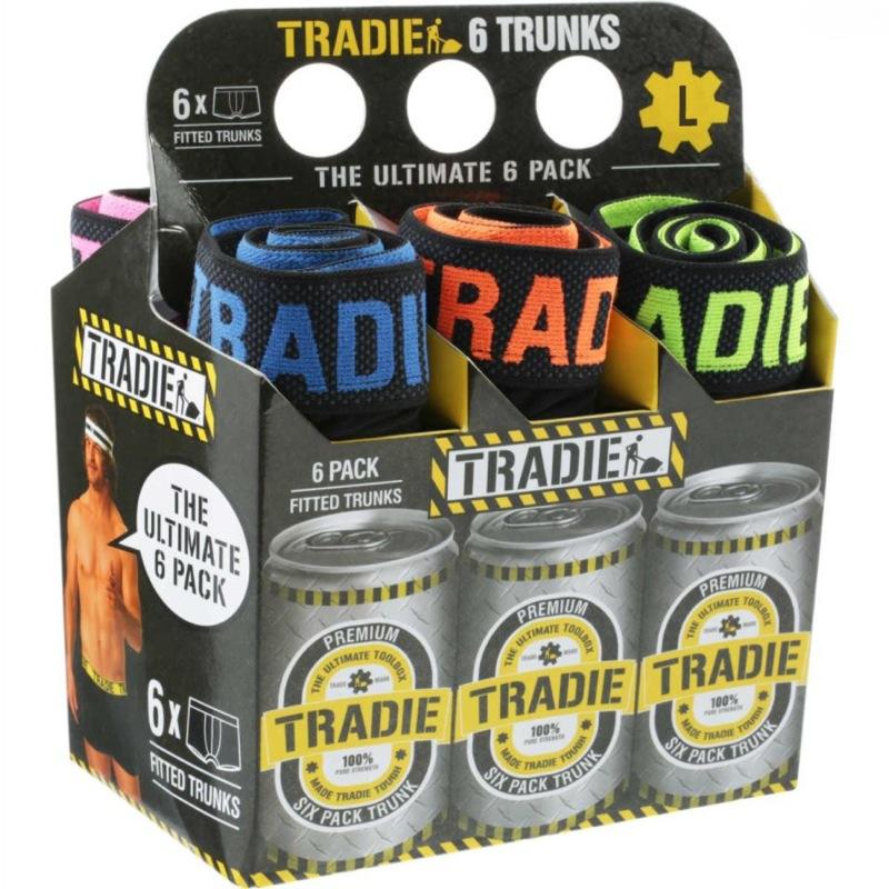 Tradie 6 Pack Ultimate Men's Trunks