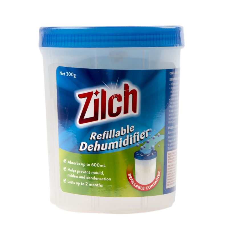 Zilch Refillable Dehumidifier 300g