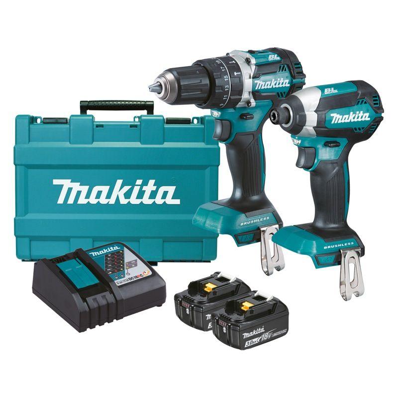 Makita 18V Brushless 2 Piece Combo Kit DLX2180X