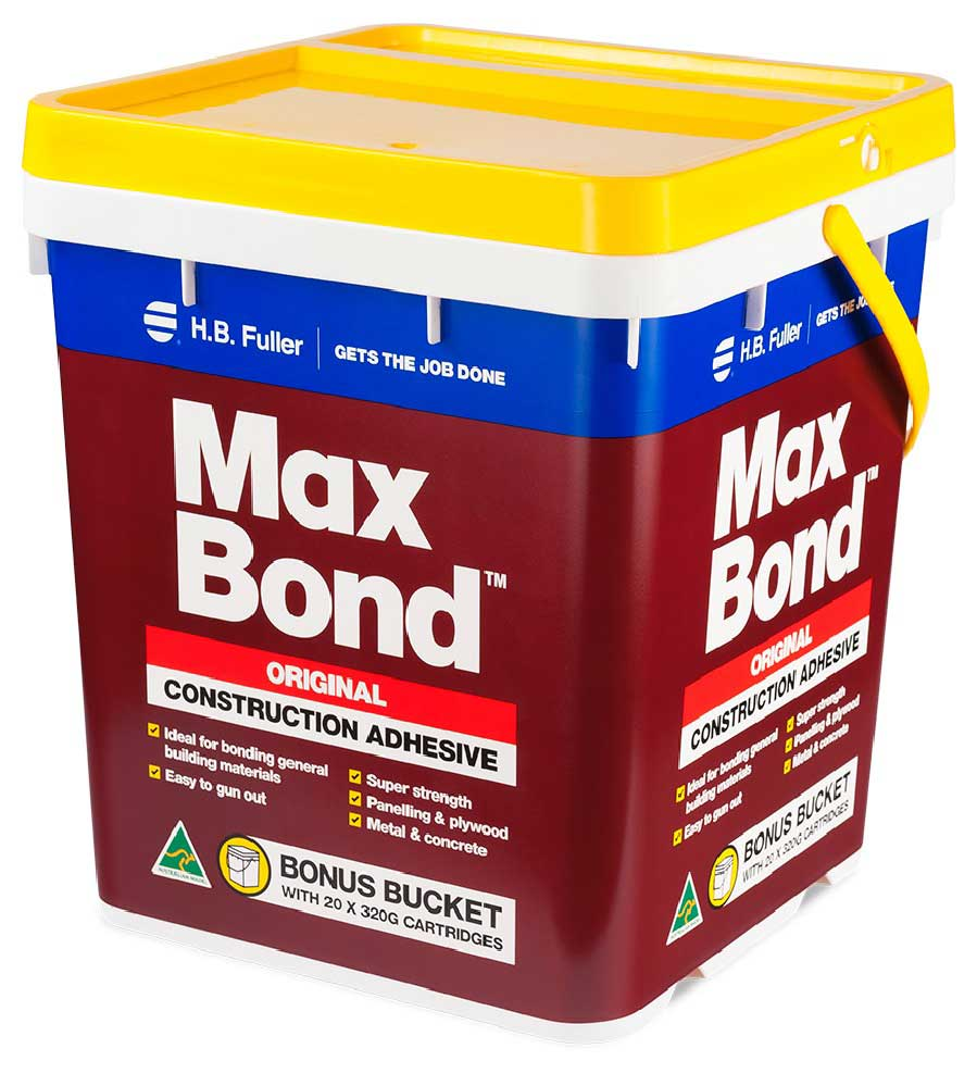HB Fuller Maxbond Bucket 20 X 320g Cartridges