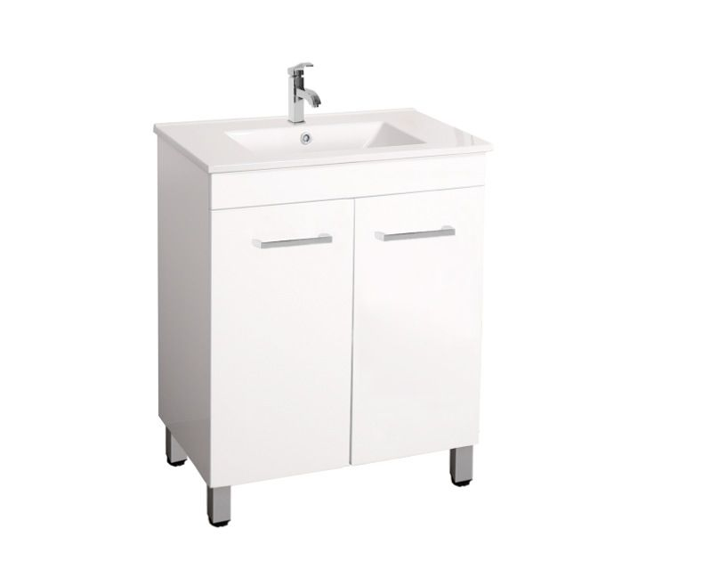 Cartia Avoca Straight Vanity 1 Taphole 600mm Home Timber