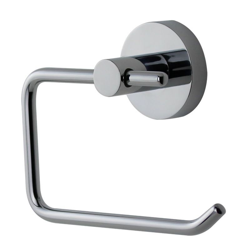 Mixx Toilet Roll Holder Round Chrome