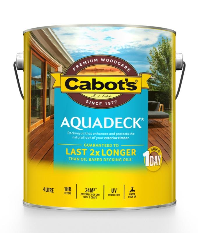 Cabot's Aquadeck 4L