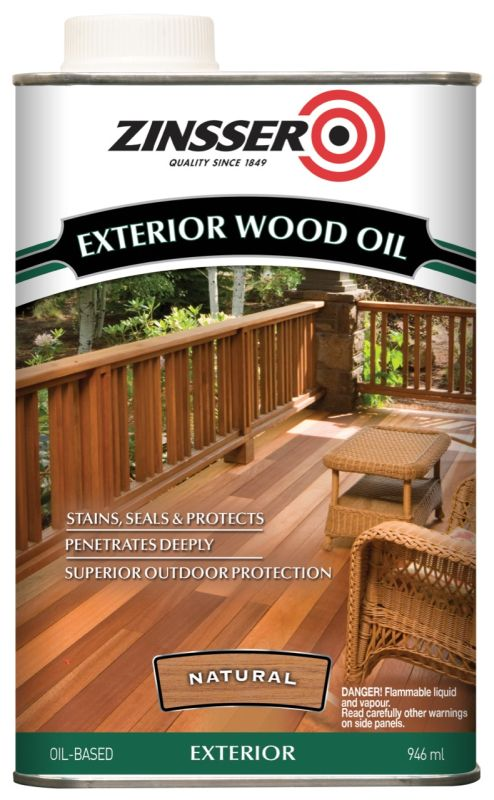 Zinsser Exterior Wood Shield 4L Natural
