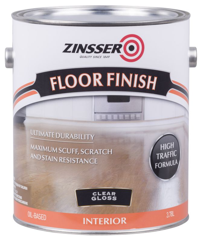 Zinsser Floor Finish 4L Gloss