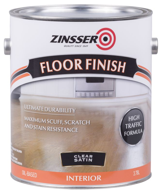 Zinsser Floor Finish 4L Satin