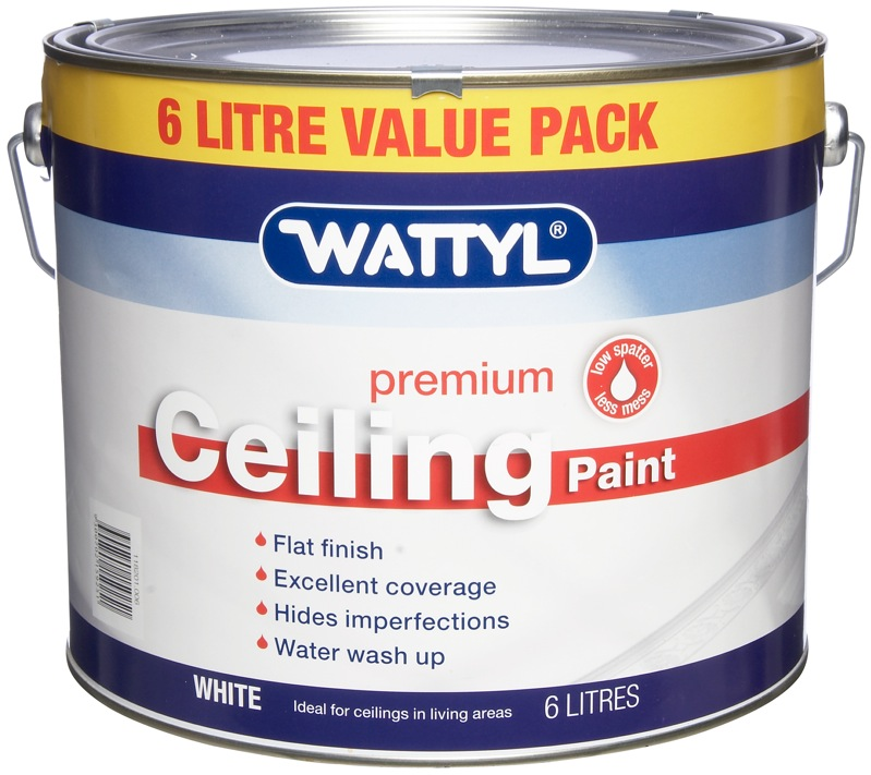 Taubmans Trade Pro 4l White Flat Interior Ceiling Paint: Home Timber & Hardware