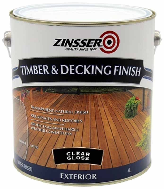 Zinsser Timber & Deck Finish 4L