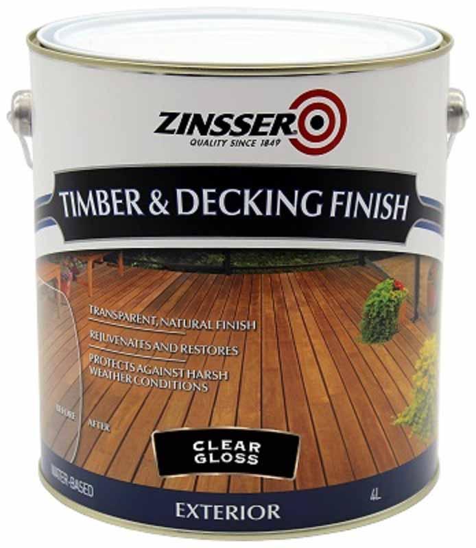 Zinsser Timber & Deck Finish 4L