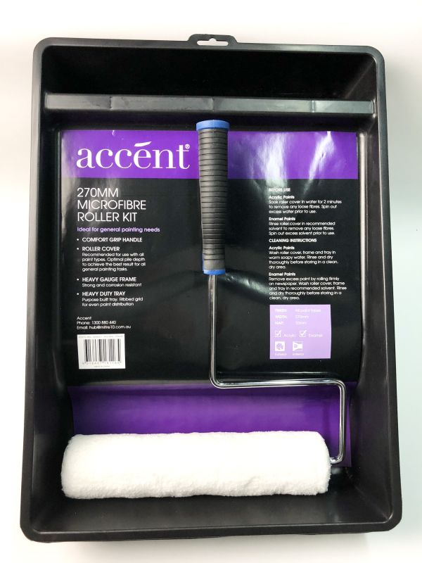 Accent Microfibre Roller Kit