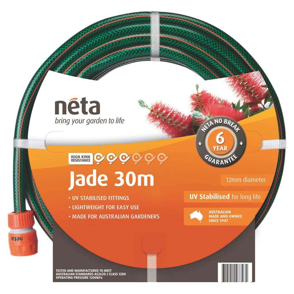 Neta Jade Fitted Hose 12mm x 30m