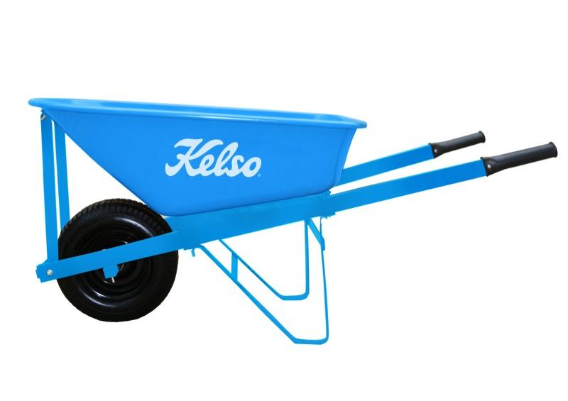 Kelso Trade Steel Tray Wheelbarrow 100L