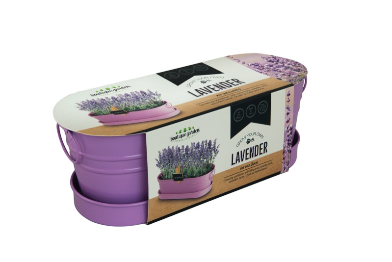 Lavender Windowsill Tin