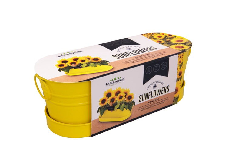 Sunflower Windowsill Tin