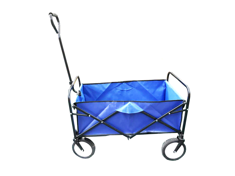 Blue Folding Cart