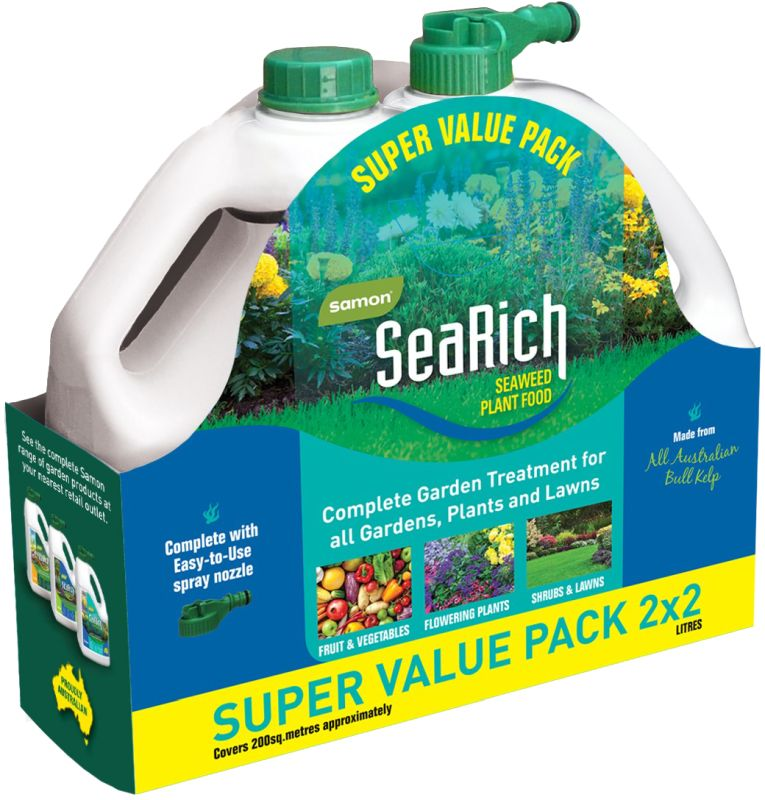 Samon SeaRich Plant Food Range 2 Litre 2 Pack
