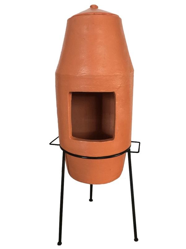 Terracotta Clay Chiminea