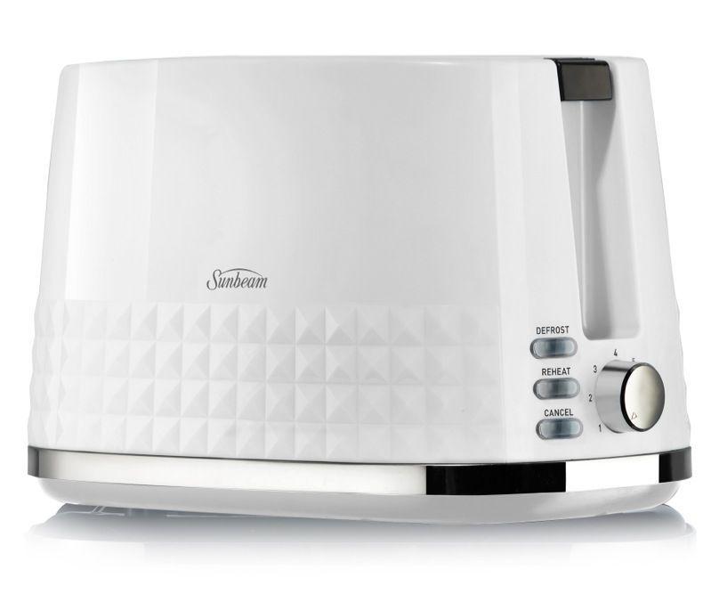 Sunbeam Diamond 2 Slice Toaster