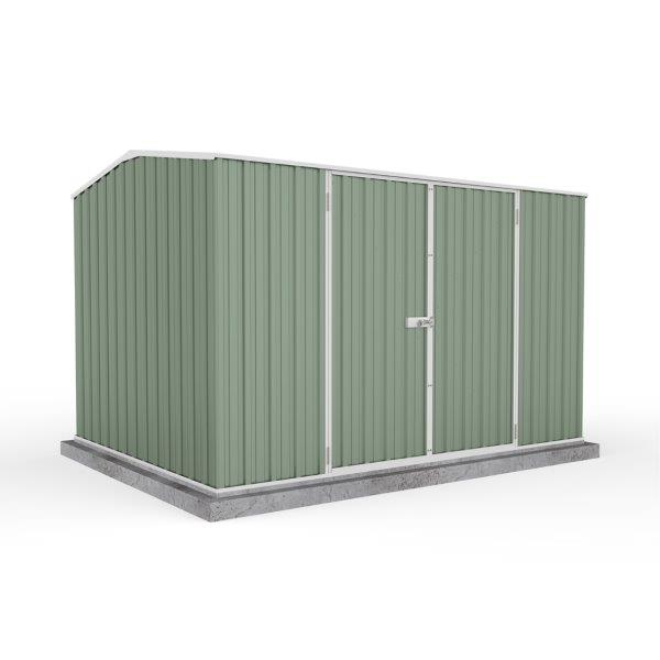 Absco 3.00m x 2.26m x 2.00m Eco-Nomy Double Door Shed