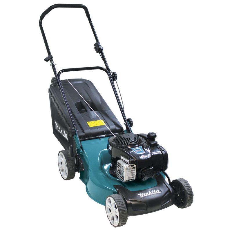 "Makita 140cc 4 Stroke Mulch & Catch Lawn Mower (18"") PLM4623NP"