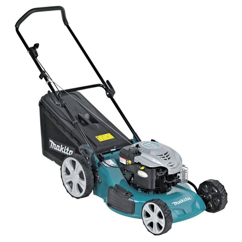 Makita 190cc 4-Stroke (6.75 ft-lbs Briggs & Stratton Engine) Petrol Lawn Mower PLM5126P