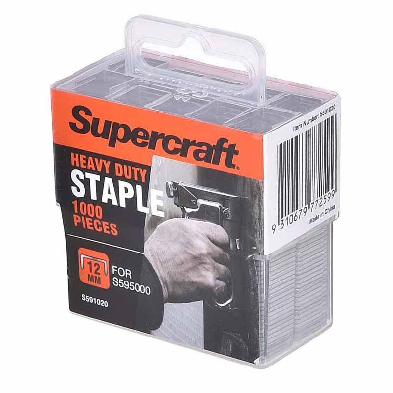 Supercraft Staple H/D 12Mm Pk1000