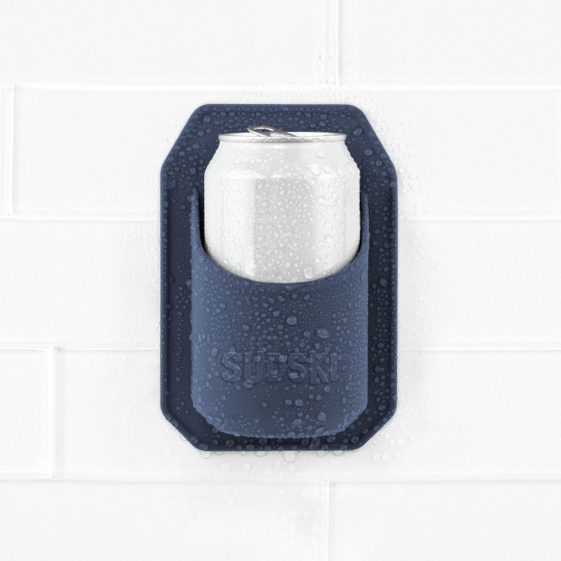 Navy Shower Beer Holder