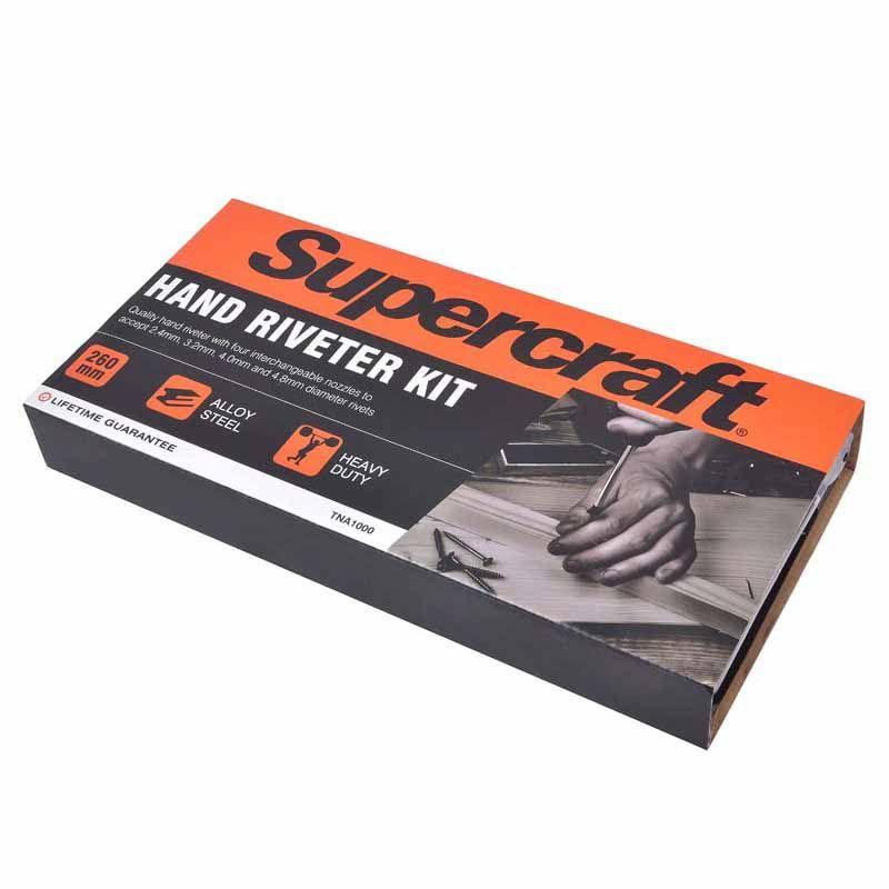 Supercraft Hand Riveter Set 60 Rivets