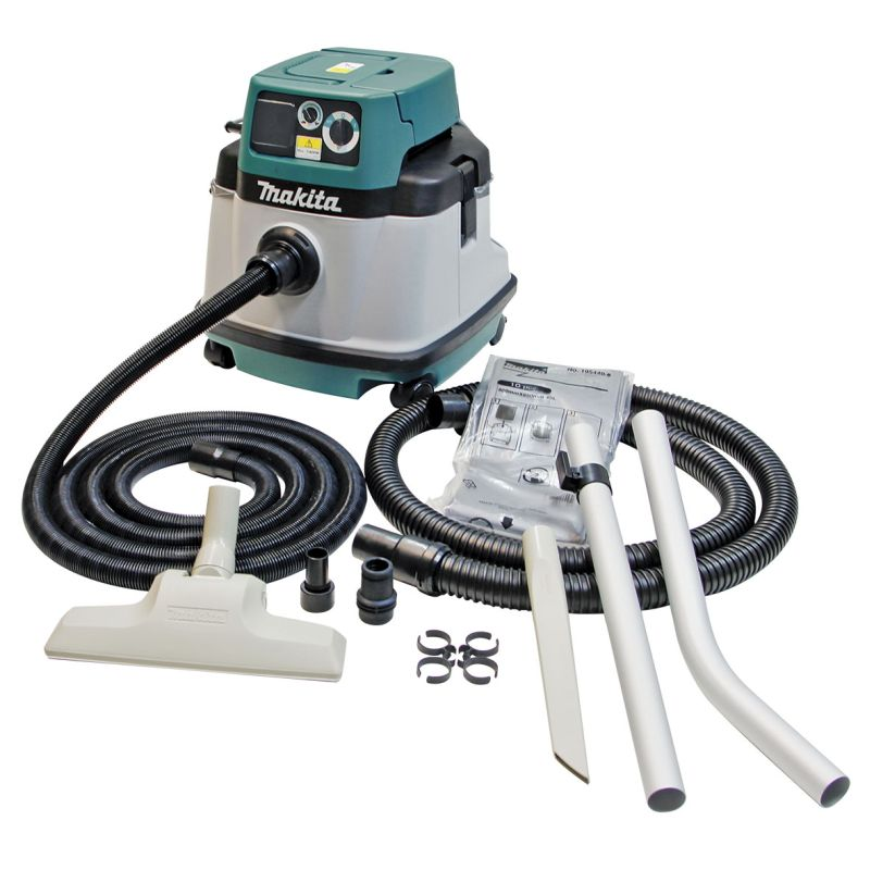Makita 25L 1050W Wet & Dry Dust Extractor Vacuum VC2510LX1