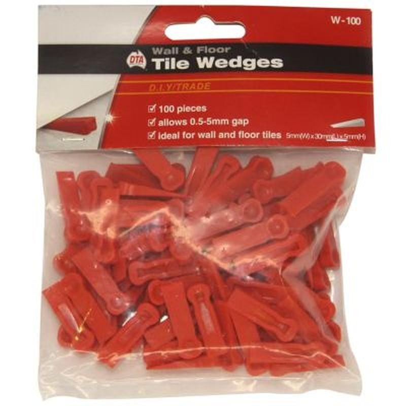 Wedges Tile Red 100 Pack