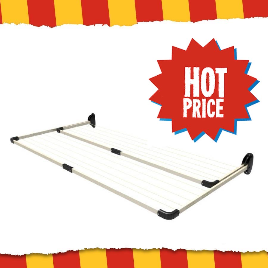 Buy Right Folding Frame Duo Clothesline