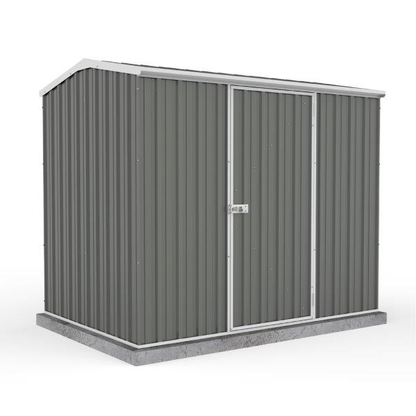 Absco 2.26m x 1.52m x 1.95m Eco-Nomy Single Door Shed