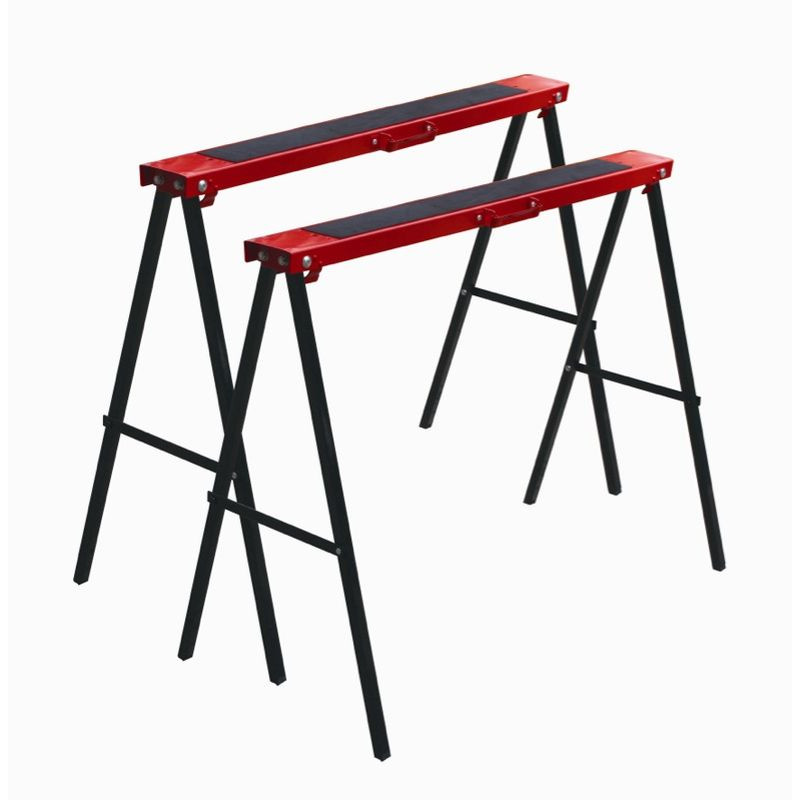 Amazing Buy Right Pack Of 2 Metal Saw Horse Home Timber Hardware Download Free Architecture Designs Scobabritishbridgeorg