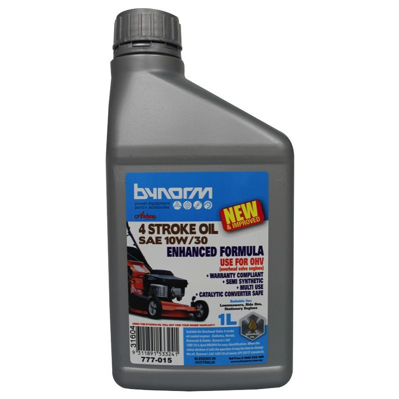 Bynorm 4 Stroke Engine Oil Sae 10w30w Home Timber Hardware