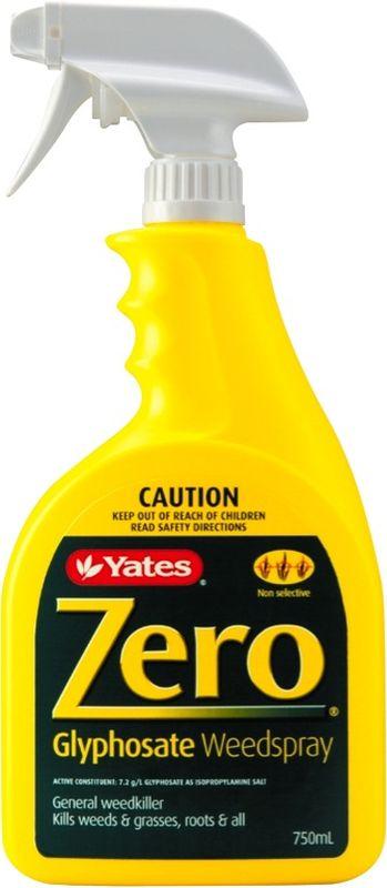 Yates Zero Glyphosate Weedspray 750ml