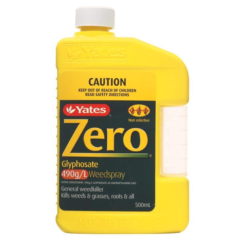 Yates Zero Glyphosate Weed Killer 500ml