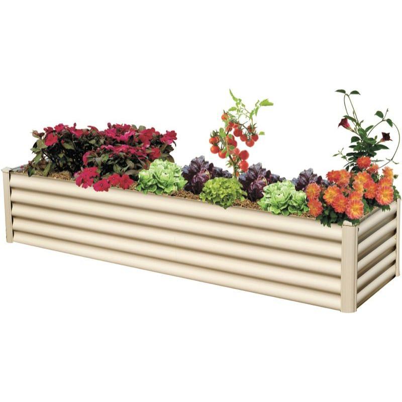 Hexies 2.00m x 0.55m x 0.40m Garden Bed Paperbark