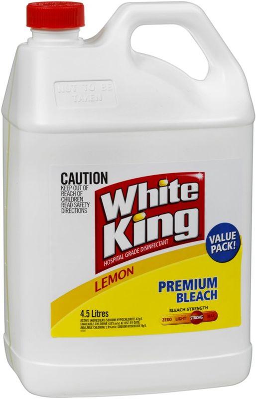 White King Bleach Lemon 4.5L