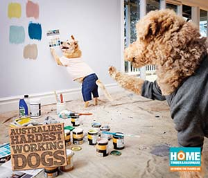 Dogs Painting