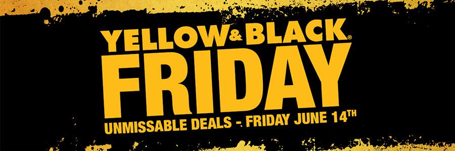 Dewalt Yellow and Black Friday