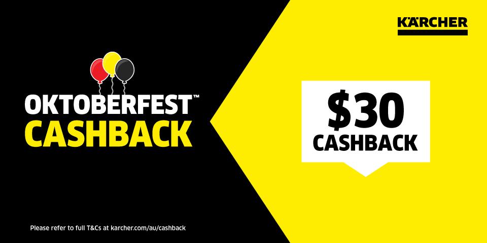 Oktoberfest Cashback offer