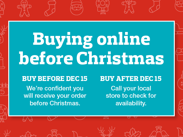 Buying before Christmas
