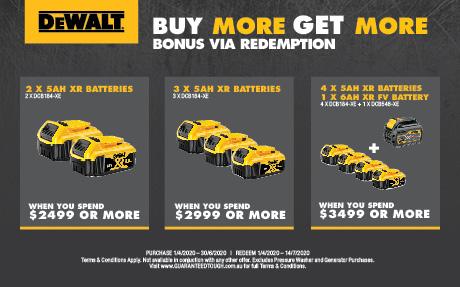 dewalt bonus battery