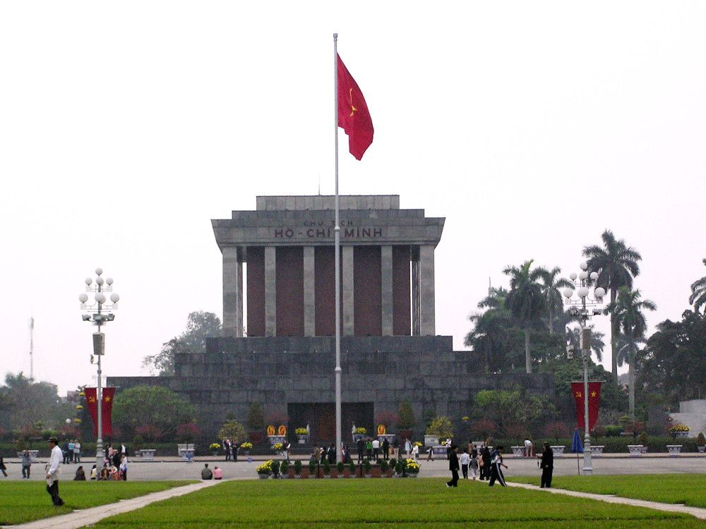 illustration of Ho Chi Minh Mausoleum #2