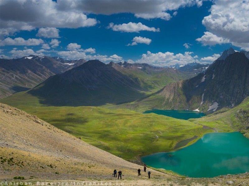 illustration of Kashmir Great Lakes Trek #1