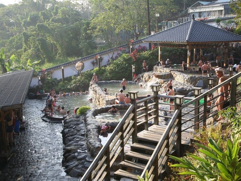 illustration of Beitou Hot Springs #2