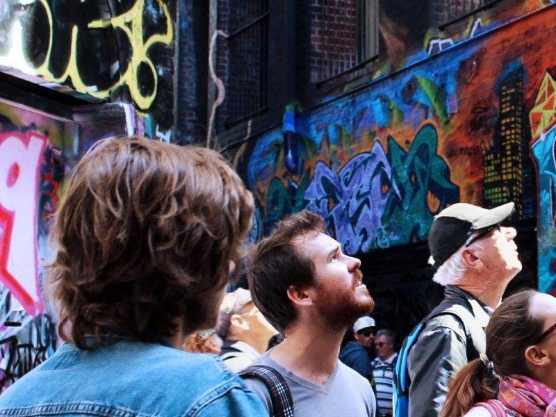illustration of Melbourne Street Art Tour #3