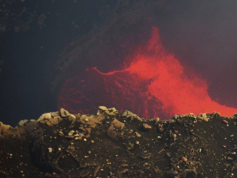illustration of Masaya Volcano National Park #1